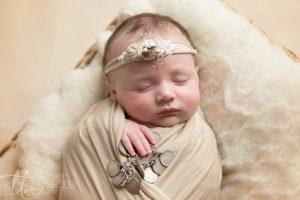 Baby girl swaddle family heirloom dublin Ireland family portraits Dublin Ireland